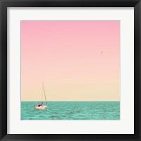 Framed Caprican Sea