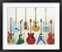Framed Guitars