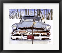Framed '54 Ford