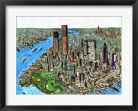 Framed Manhattan 72