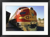 Framed Santa Fe Railroad