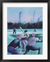 Framed Baseball Players