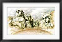 Framed Mount Rushmore