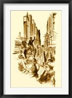 Framed New York 5th Avenue