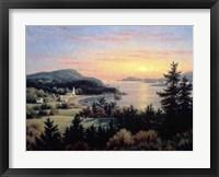 Framed Sunset From Village Point