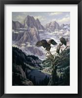 Framed Cascade Family Tree
