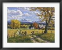 Framed Autumn Palette