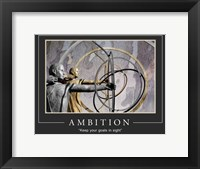 Framed Ambition Motivational