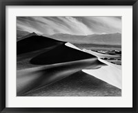 Framed Dunes At Mesquite Flats