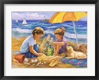 Framed Beach Fun