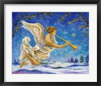 Framed Christmas Angel - Joy to the World
