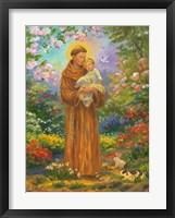 Framed St. Francis