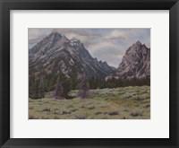 Framed Teton View