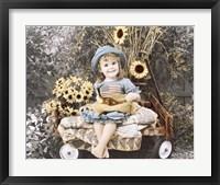 Framed Sunflower Smile