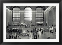Framed Grand Central Time Lapse