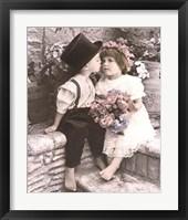 Framed Little Kiss