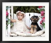 Framed Mia & Gismo