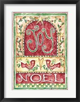 Framed Joy Noel