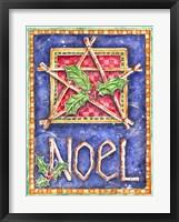 Framed Noel Star