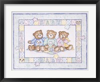 Framed Baby Bears