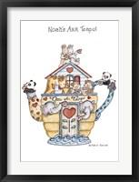 Framed Noah's Ark Teapot
