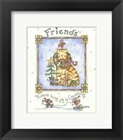 Framed Friends Bring Joy To Christmas