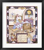 Framed Lord's Prayer - Boy