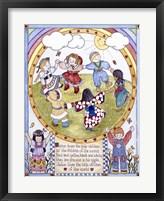 Framed Jesus Loves The Little Children