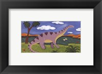 Framed Dippy the Diplodocus