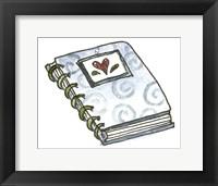 Framed School Spiral Notebook