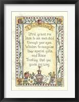 Framed Teacher's Prayer 2