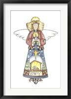 Framed Joy Angel