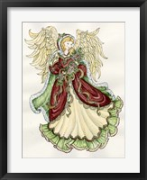 Framed Angel With Roses