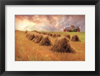 Framed Harvest Blessings