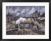 Framed Night Train To Edinbourough