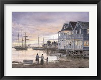 Framed Nantucket Sunset