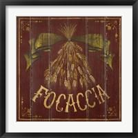 Framed Focaccia