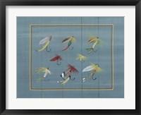 Framed Fishing Hooks 2