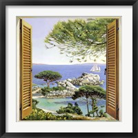 Framed Finestra sul Mediterraneo