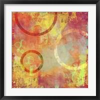 Circle Carnival II Framed Print