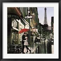 Framed Romance in Paris