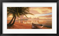 Framed Tramonto ai Tropici