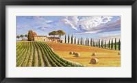 Framed Colline Toscane