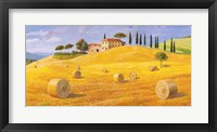 Framed Colline in Toscana