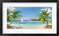 Framed Baia Tropicale