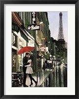 Framed Romance in Paris (Detail)