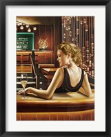 Night Out II Framed Print