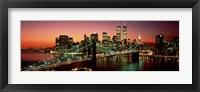Framed Brooklyn Bridge, NYC