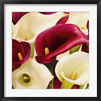 Framed Calla Composition (Detail)