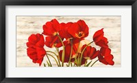 Framed French Tulips